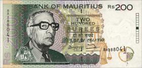 Mauritius P.45 200 Rupien 1998 (1)