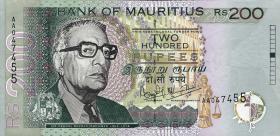 Mauritius P.52a 200 Rupien 1999 (2)