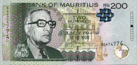 Mauritius P.61b 200 Rupien 2013 (1)