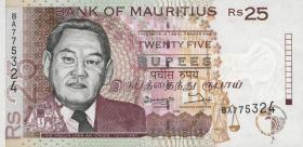 Mauritius P.42 25 Rupien 1998 (1)