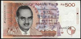 Mauritius P.46 500 Rupien 1998 (1)