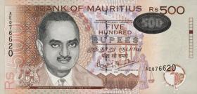 Mauritius P.53a 500 Rupien 1999 (1)