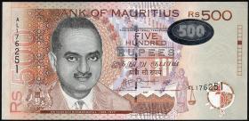 Mauritius P.58b 500 Rupien 2007 (1)