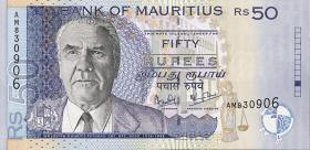 Mauritius P.50b 50 Rupien 2001 (1)