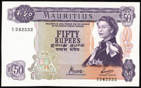 Mauritius P.33c 50 Rupien 1967 (1)