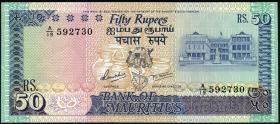 Mauritius P.37b 50 Rupien (1986) (1)