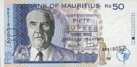 Mauritius P.43 50 Rupien 1998 (1)