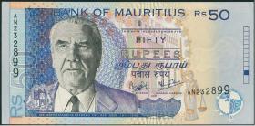 Mauritius P.50b 50 Rupien 2001 (2)