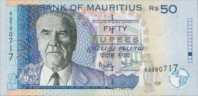 Mauritius P.50c 50 Rupien 2003 (1)