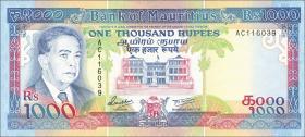Mauritius P.41 1000 Rupien (1991) (2+)