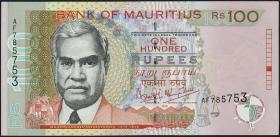 Mauritius P.51a 100 Rupien 1999 (2)
