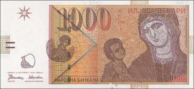 Mazedonien / Macedonia P.18 1000 Denari 1996 (1)