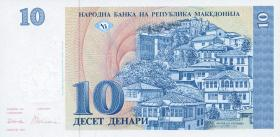 Mazedonien / Macedonia P.09 10 Denari 1993 (1)
