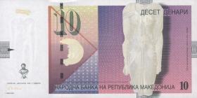 Mazedonien / Macedonia P.14 10 Denari 2001-05 (1)