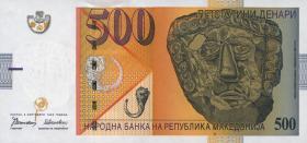 Mazedonien / Macedonia P.17 500 Denari 1996 (1)