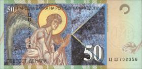 Mazedonien / Macedonia P.15 50 Denari 1996,2001 (1)