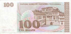 Mazedonien / Macedonia P.12 100 Denari 1993 (1/1-)