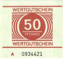 MDI-20 DDR Gefängnisgeld 50 Pfennig (1982-1990) (1)