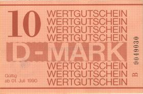 MDI-40 DDR Gefängnisgeld 10 DM (1990) (1-)