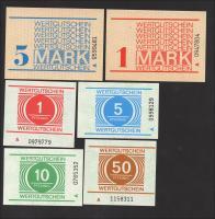 MDI-17-30 DDR Gefängnisgeld Serie A 1 Pfennig - 5 Mark (1)