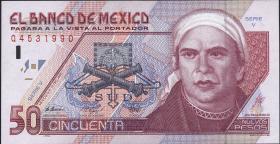 Mexiko / Mexico P.101 50 Pesos 1992 (1)