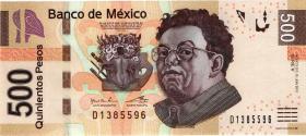 Mexiko / Mexico P.126c 500 Pesos 2012 (1)