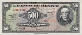 Mexiko / Mexico P.051t 500 Pesos 1978 (1)