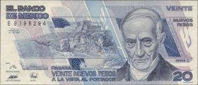 Mexiko / Mexico P.096 20 Pesos 1992 (1)