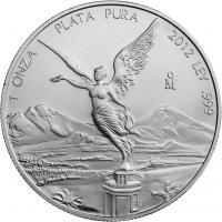 Mexiko Silber-Unze 2012 Siegesgöttin