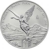 Mexiko Silber-Unze 2017 Siegesgöttin