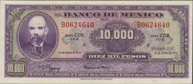 Mexiko / Mexico P.072 10000 Pesos 1978 Serie O (1)