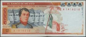 Mexiko / Mexico P.083b 5000 Pesos 26.7.1983 (1)