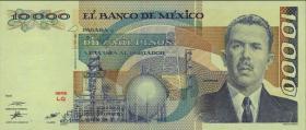 Mexiko / Mexico P.089c 10000 Pesos 1987 (1)