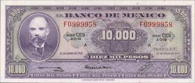 Mexiko / Mexico P.072 10000 Pesos 1978 Serie A (1)