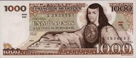 Mexiko / Mexico P.076 1000 Pesos 1981 (1)