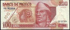 Mexiko / Mexico P.113 100 Pesos 2000 Gedenkbanknote (1)