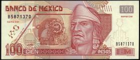 Mexiko / Mexico P.118g 100 Pesos 2005 (1)