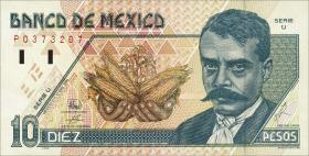 Mexiko / Mexico P.105b 10 Pesos 1996 (1)