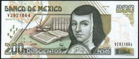 Mexiko / Mexico P.109b 200 Pesos 1996 (2+)