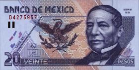 Mexiko / Mexico P.106c 20 Pesos 1998 (1)
