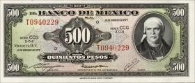 Mexiko / Mexico P.051s 500 Pesos 1977 (1)