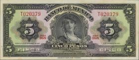 Mexiko / Mexico P.060j 5 Pesos 1969 (1)