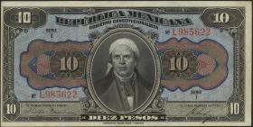 Mexiko / Mexico P. S0686 10 Pesos 1915 (1)