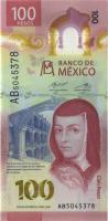 Mexiko / Mexico 100 Pesos 2020 Polymer (1)