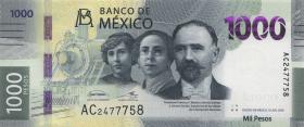 Mexiko / Mexico P.neu 1000 Pesos 2019 (1)