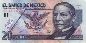 Mexiko / Mexico P.100 20 Nuevos Pesos 1992 (2)