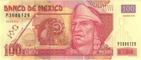 Mexiko / Mexico P.124d 100 Pesos 3.5.2010 (1)