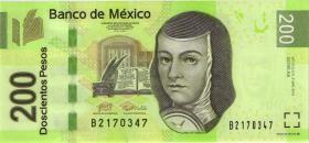 Mexiko / Mexico P.125e 200 Pesos 3.5.2010 (1)