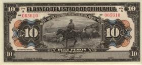 Guatemala Banco Agricola Hip. P.S101b 1 Peso 1920 (3)