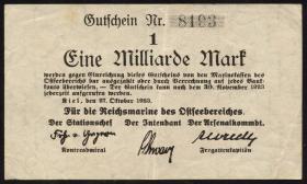 Mil-05a Reichsmarine Ostseebereich 1 Milliarde Mark 1923 (3)